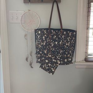 Anthropologie Canvas Tote Bag
